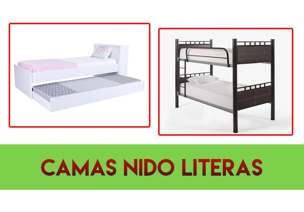 camas nido literas
